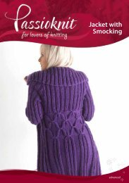 Rib Jacket - Passioknit Knitting :: Patterns, Yarns and Needles
