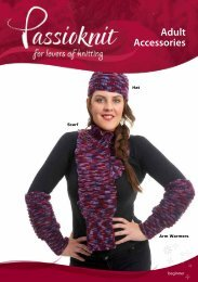 Hat, Scarf and Arm Warmers - Passioknit Knitting :: Patterns, Yarns ...