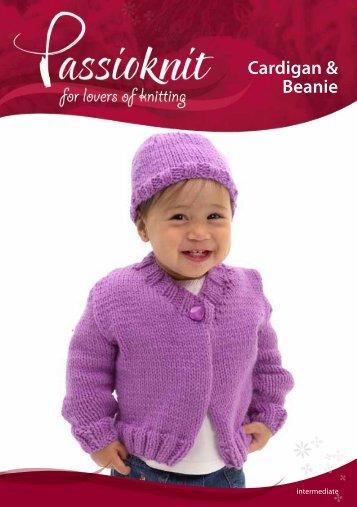 Baby Cardigan - Passioknit Knitting :: Patterns, Yarns and Needles