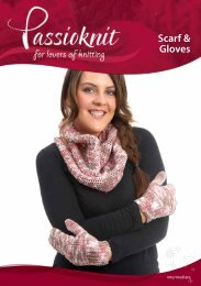 Scarf & Gloves - Passioknit Knitting :: Patterns, Yarns and Needles