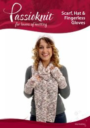 Scarf, Hat & Fingerless Gloves - Passioknit Knitting :: Patterns, Yarns ...