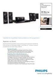 HTB7530D/12 Philips 5.1 Home Entertainment-System ... - Passiontec