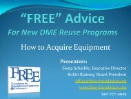 How to Acquire Equipment - Pass It On Center