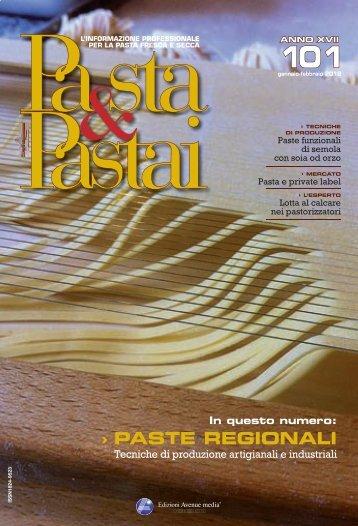 PASTE REGIONALI - Pasta e pastai