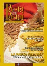cover e indice contenuti - Pasta e pastai