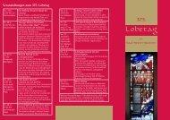 Veranstaltungen zum 375. Lobetag - Pastoralverbund Erwitte