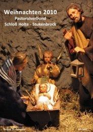 Sonntag, 19. Dezember 2010 - Pastoralverbund Schloß Holte ...