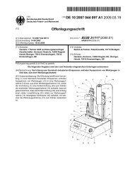 Vorrichtung zum thermisch-induzierten Einspannen und ... - Patente