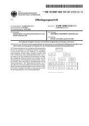 De novo Formierung künstlicher Chromosomen aus prä ... - Patente