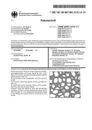 Keramik mit sehr guten Hochfrequenzeigenschaften und ... - Patente