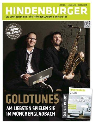 Hindenburger -  Ausgabe März 2014