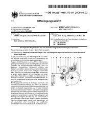 Verfahren und Vorrichtung zur Vor- und Fertigmahlung von ...
