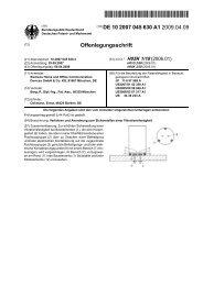 Verfahren und Anordnung zum Sicherstellen einer Vibrationsfestigkeit