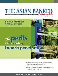 branch penetration - Diebold