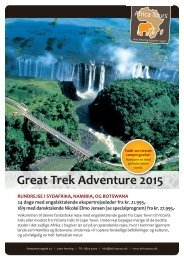 Great Trek Adventure 2015