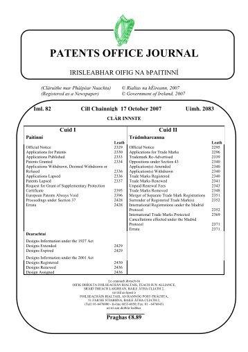 2083 - Irish Patents Office