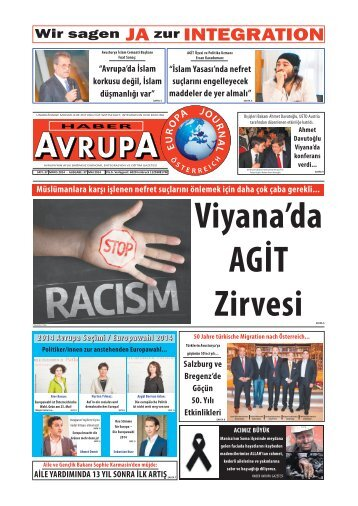 EUROPA JOURNAL - HABER AVRUPA MAI 2014