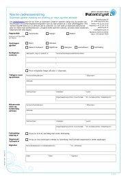 Skjema - Patentstyret