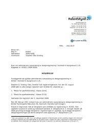 Oslo, 2012.03.07 - Patentstyret