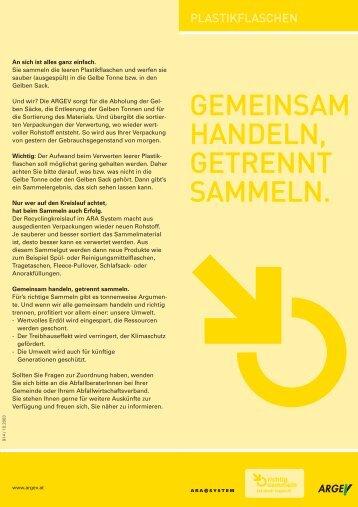 abfuhrbezirke f r die gelben s cke. Black Bedroom Furniture Sets. Home Design Ideas