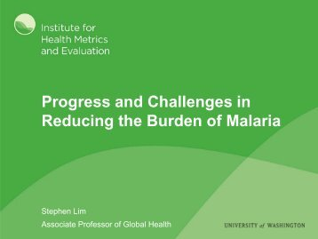 malaria - PATH