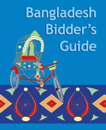 Bangladesh Bidder's Guide (part 1 of 4) - Path