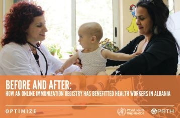 Before and After: How an Online Immunization Registry has ... - Path