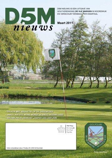 Maart 2011 Maart 2011 - Golfclub De Vijf Margen