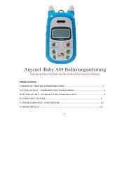 Bedienungsanleitung Anycool A88 Deutsch - Avcibase