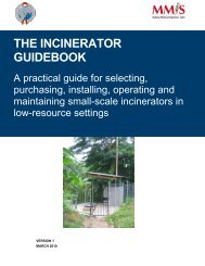 The Incinerator Guidebook: A Practical Guide for Selecting ... - SSWM