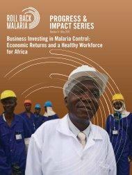 Business Investing in Malaria Control: Economic Returns and ... - Path