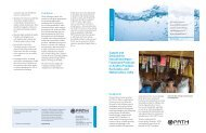 Supply and Demand for Household Water Treatment Products ... - Path
