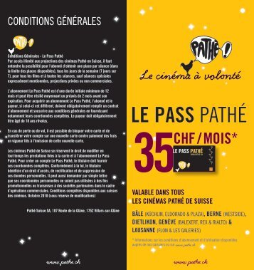 LE PASS PATHÉ