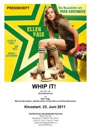 WHIP IT! - Pathé Films AG Zürich