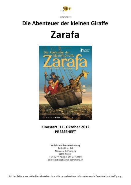 Zarafa - Pathé Films AG Zürich