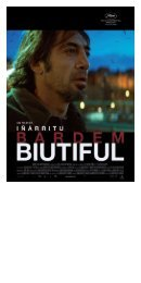 biutiful - Pathé Films AG Zürich
