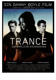 trance gefährliche erinnerung - Pathé Films AG Zürich