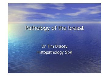 Pathology of the breast - Pathkids.com