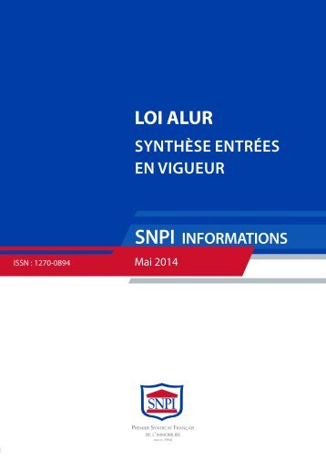 synthese-entree-vigueur-alur