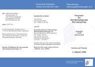 Patientenliga Atemwegserkrankungen e.V. Informierte Patienten ...