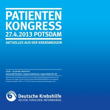KONGRESS - Onkologisches Forum