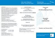 Programm Essen - Patientenliga Atemwegserkrankungen e.V.