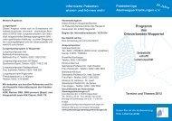 Programm Wuppertal - Patientenliga Atemwegserkrankungen e.V.