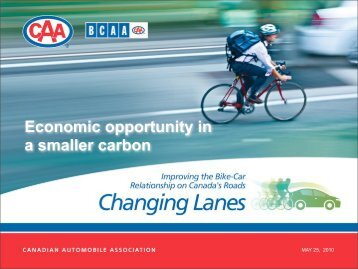 Obvious economic opportunities - CAA