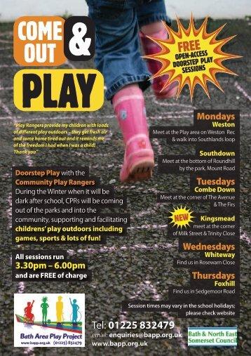 BAPP Doorstep Play A5 - Bath Area Play Project