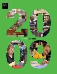 Annual Report 2009 - Brooklyn Public Library