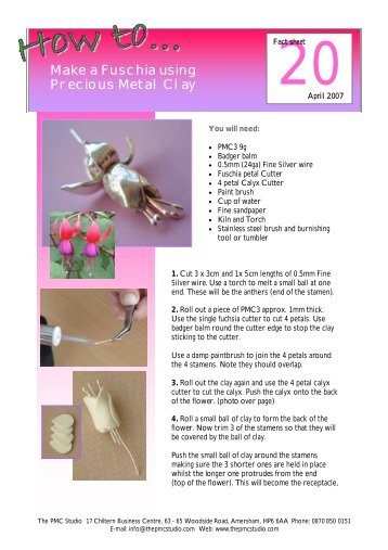copper clay firing instructions