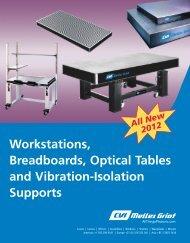 Opto-Mech Table Capabilities - CVI Melles Griot