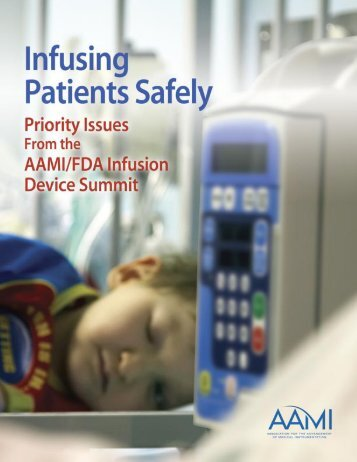 Infusing Patients Safely - Association for the Advancement of ...