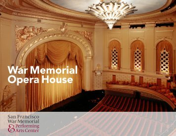 War Memorial Opera House - The Patina Group